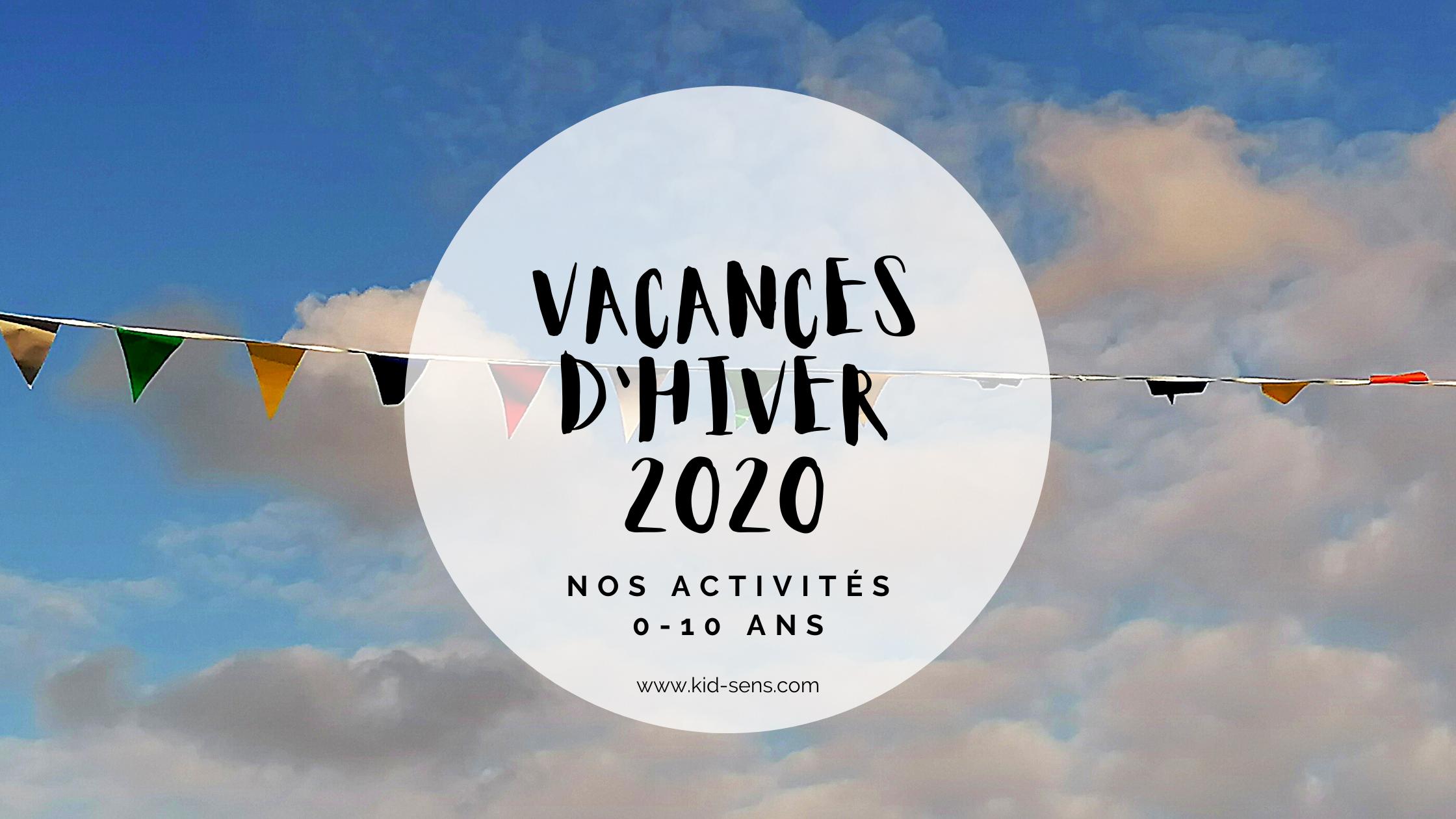 Vacances d'hiver 2020 pour vos enfants à Aix en Provence