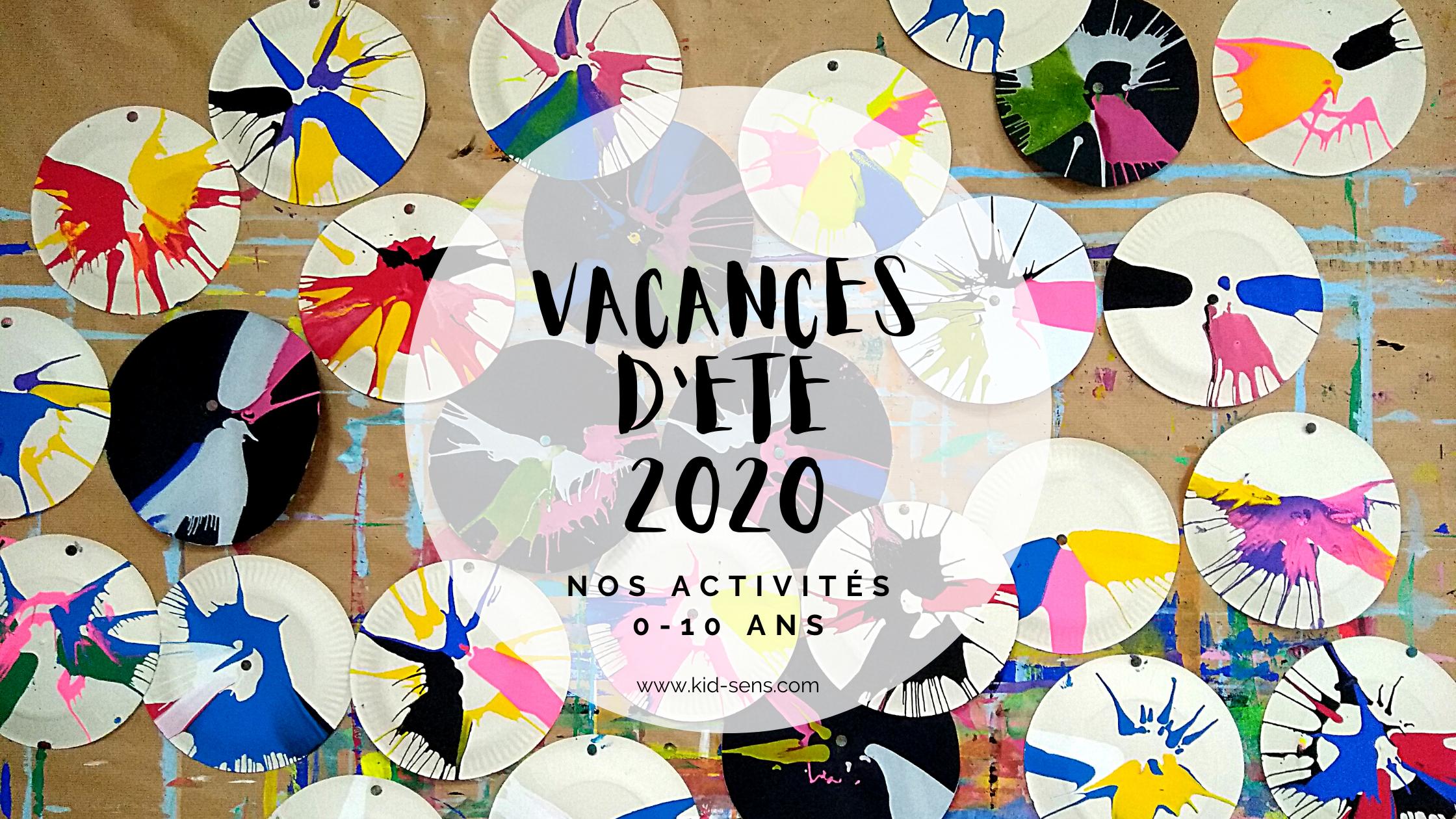 Vacances d'été 2020 pour vos enfants à Aix en Provence