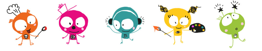 Ribambelle des Kiddies, les petits personnages sensoriels de KID&Sens