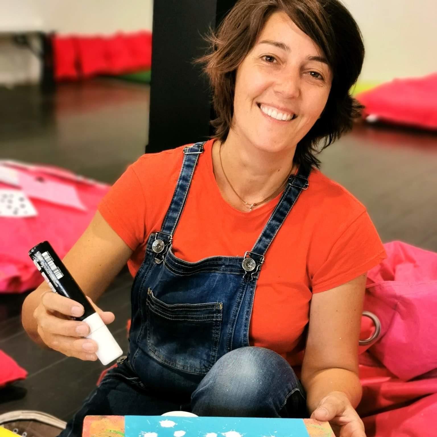 Valia, fondatrice de KID & Sens, club d'activités parent enfant à Aix en Provence