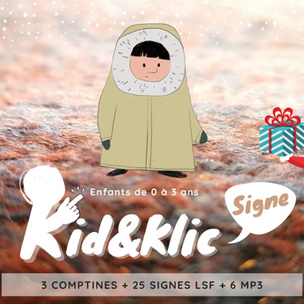KID&Klic Signe : des coffrets pour apprendre en chantant à signer avec bébé