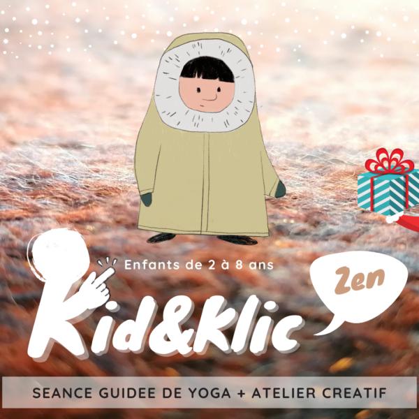 Yoga Parent Enfant sur le thème de Noël