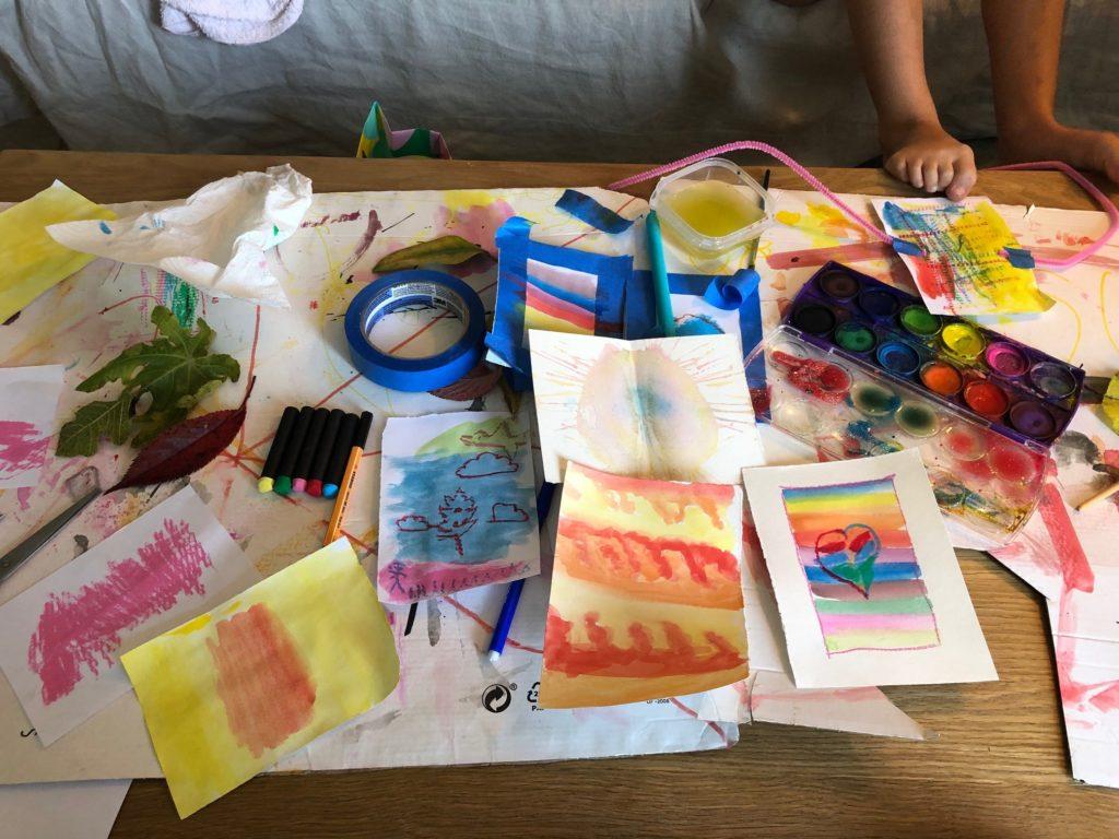 Peintures d'enfants