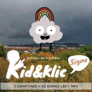 KID&Klic Signe Petit Nuage