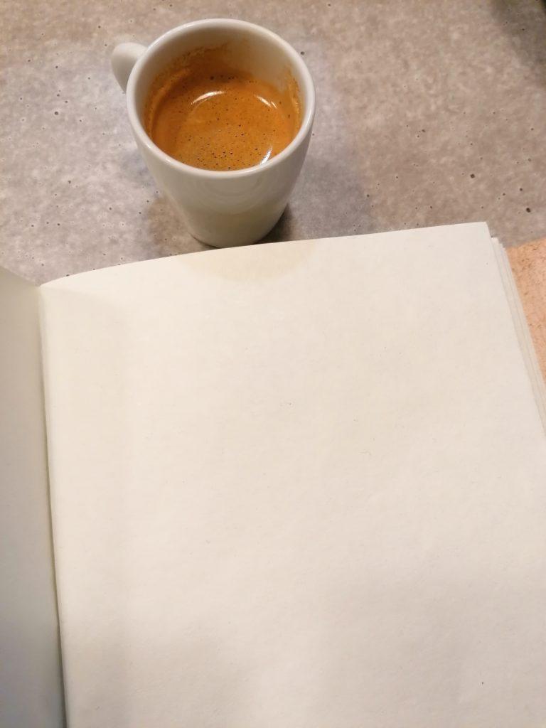 Peur de la page blanche dans son carnet créatif