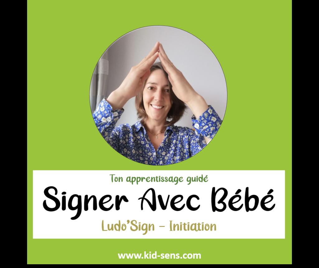 Initiation Ludo'Sign : signer avec bébé en famille ou avec des professionnels de l'Enfance