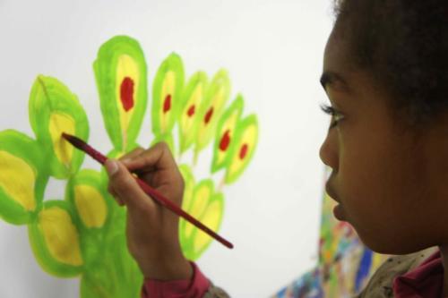 Expression libre par la peinture